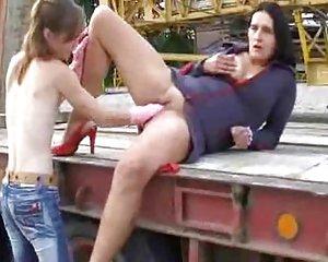 Sex mit gummihandschuhe