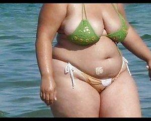 haarige muschi reifen bikini sexy