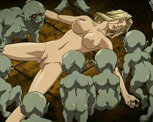 Animierte nackte Mädchen ficken sich gegenseitig